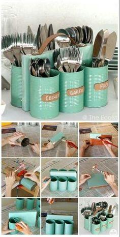 Étain suédois scandinave de stockage thé tin pot canisters-geometric pattern. café