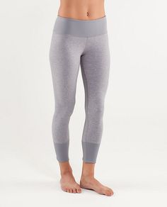 I love these slimmer cut Lululemon pants for working out or running errands.