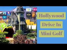 Hollywood Drive In Golf Sci Fi - Universal Orlando City Walk Universal Orlando, Universal Studios, Mini Golf Games, Moving Walkway, Love Mail, Orlando City, Hanging Out, Have Fun, Sci Fi