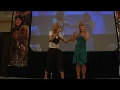 Lucy and Renee - Jersey Girls - Xena Convention 2007 (8/8)    first 20 min it's Renee, next 30 min it's Lucy - then the two of them together    © Creation Entertainment