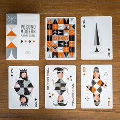 The Retro Deck - Playing Cards - Light — Pocono Modern Playing Cards For Sale, Playing Cards Art, Custom Playing Cards, Custom Deck Of Cards, Custom Decks, Mouton Cadet, White Deck, Joker, Card Companies