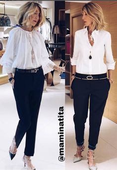 Fashion 101, Work Fashion, Daily Fashion, Womens Fashion, Business Casual Outfits, Chic Outfits, Fashion Outfits, Look Office, Mode Inspiration