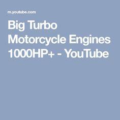 Big Turbo Motorcycle Engines 1000HP+ - YouTube