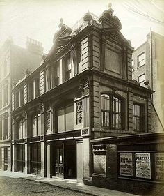 M Isaacs And Sons, Pudding Lane, City Of London, 11 May 1892. Isaacs were a fruit importers.