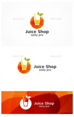 Juice Shop - Food Logo Templates