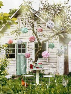 Terrazas y balcones en colores pastel | Decorar tu casa es facilisimo.com