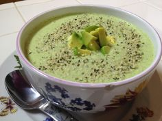 Cream of Broccoli Soup - This is AMAZING!!!  It tastes just like the original except with all the dairy.  I added chili flakes and smoked paprika for an extra depth of flavor.