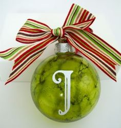 I want to do this!! alcohol ink ornaments tutorial