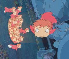 Ponyo, super cute movie!