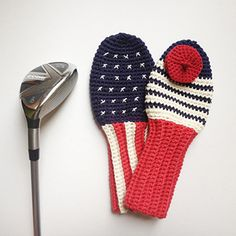 Golfing Tips That Can Really Help You. It doesn't matter if you are an expert at golf, or just a beginner who thinks that eagles and birdies are things that birdwatchers do. Golf is a sport of m Crochet Gifts, Crochet Yarn, Crochet Toys, Trendy Golf, New Golf Clubs, Golf Club Covers, Gifts For Golfers, Play Golf, Crochet Projects