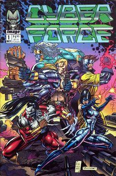 Comic No 1 de Cyber Force