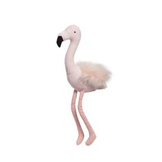 Thisadorable soft Florence the Pink Flamingo by Lily & George is the perfect little companion as well as a beautiful statement piece whether it be on a bed, chair or bookcase. Dimensions: 48cm x 20cm