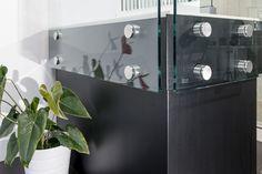 Side Mount Glass Railings Eclipse Glass-Port Moody Showroom
