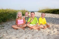 Alexis, Aubree, Jacob and Cameron  Myrtle Beach sc July 2015