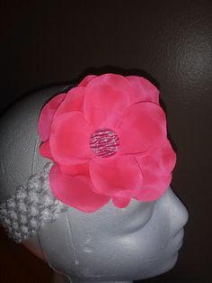Handmade girls headband by babybelladivas on Etsy, $6.00