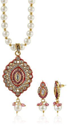 #amazonindia #amazonoffer #jewellery #necklaces #pendant Ava Jewellery Set for Women  in Rs.999 Necklaces & Pendants Upto 75% Off @ http://www.amazonoffer.in/womens.html
