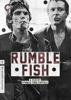 Criterion Cover Rumble Fish