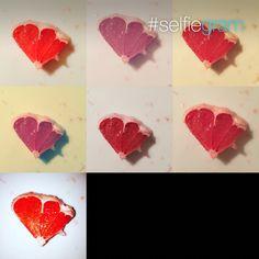 Grepový Srdce Srdíčko❤️/Grapefruit❤️❤️❤️Heart♥️