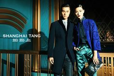 shanghai tang fall ads8 Lina Zhang Fronts Shanghai Tang Fall 2013 Ads by Richard Bernardin