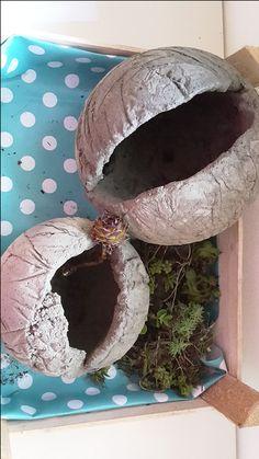 Betonkugeln auf meiner alten Kabeltrommel   Das Schneckenhaus - Blog übers Nähen, Kochen, Dekorieren, DIY