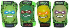 Nickelodeon 3D Knee & Elbow pads Teenage Mutant Ninja Turtles ( NO Gloves ) Pad #Nickelodeon
