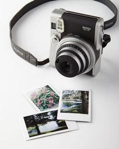 Fuji Instax Mini Camera with Film at Neiman Marcus.