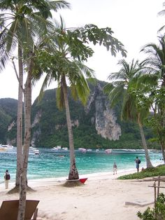 Phi Phi Island Thailand Great beach and place to chillax #thailand