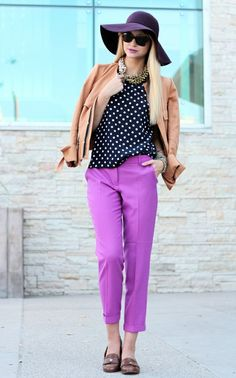 purple pants :)