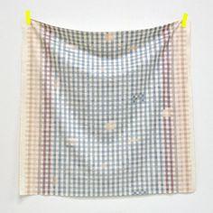 Kokka Nani Iro Japanese Fabric Painting Check A/W by MissMatatabi