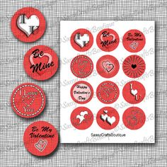 Hey, I found this really awesome Etsy listing at https://www.etsy.com/listing/218648391/valentines-day-cupcake-toppers-stickers