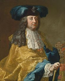 Francis I (8 December 1708 – 18 August 1765)was Holy Roman Emperor and Grand Duke of Tuscany, though his wife effectively executed the real powers of those positions. With his wife, Maria Theresa, he was the founder of the Habsburg-Lorraine dynasty. From 1728 until 1737 he was Duke of Lorraine. In 1737, Lorraine became managed by France under terms resulting from the War of the Polish Succession.