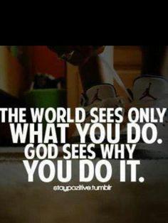 ..the world versus God
