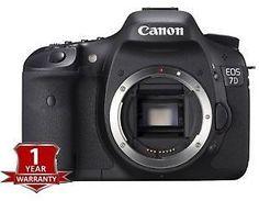 Brand New Canon EOS 7D DSLR Camera Body Only 18 0MP Digital SLR 013803117493 | eBay