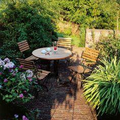 Gartenmöbel Set Teak und Stahl: London Collection