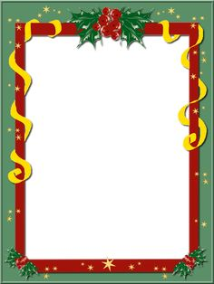 Christmas Note, Christmas Border, Christmas Frames, All Things Christmas, Rammer, Page Borders, Note Paper, Imvu, Diy And Crafts