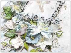 """2 Crafty Chipboard : My November DT Reveal - Part Two""""Friends""""Layout By Di Garlling"""