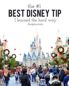 Out of all of the Disney World tips and tricks I have read, this is by far the Best Disney Tip I learned the hard way. disney world secret disney secret Walt Disney World, Disney World Planning, Disney World Vacation, Disney Vacations, Disney Parks, Disney Honeymoon, Disney Worlds, Summer Vacations, Disney Travel