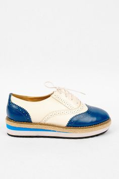 Oxy Flatform Oxfords ~ TOBI