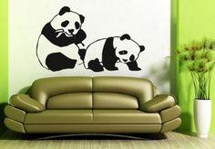 Wandtattoo schlafender Panda – niedliches Motiv für das Kinderzimmer | wall-art.de