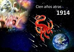 """Revelation 12:7And war broke out in heaven: Mi′cha·el and his angels battled with the dragon, and the dragon and its angels battled 8but they did not prevail, nor was a place found for them any longer in heaven. 9So down the great dragon was hurled, the original serpent, the one called Devil and Satan, who is misleading the entire inhabited earth;  """"Now have come to pass the salvation and the power and the Kingdom of our God and the authority of his Christ,"""
