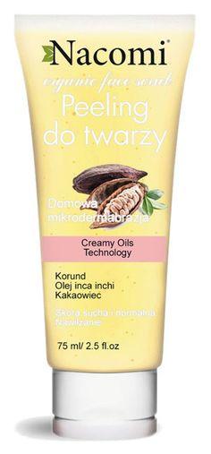 Nacomi Peeling do twarzy nawilżający, 75 ml Sparkling Ice, Shampoo, Personal Care, Cosmetics, Drinks, Bottle, Beauty, Drinking, Self Care