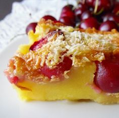 Clafoutis torta francese alle ciliegie