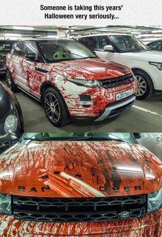 Bil-stylingtips til Halloween Car Memes, Car Humor, Funny Memes, Carros Suv, Carros Lamborghini, Car Paint Jobs, Car Tuning, Car Painting, Car Wrap