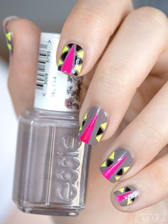 Cool tribal nails