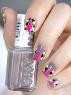 Cool tribal nails