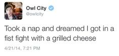 imaginechemicals:  A few reasons why owl city is the best twitter account
