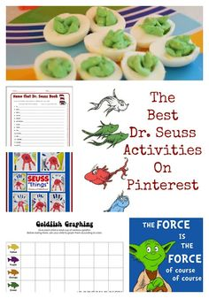 The Best Dr Seuss read Across America Ideas- free printables cat in the hat