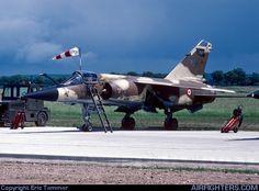 """""""Mirage F1 CR"""" n°617_33-NO à Toul le 29.05.1988."""