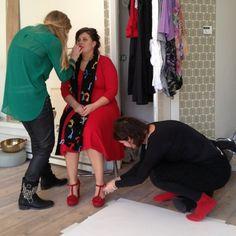 Make-up bijwerken & andere schoenen...