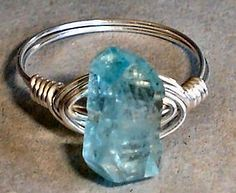 wire wrapped stone ring tutorial